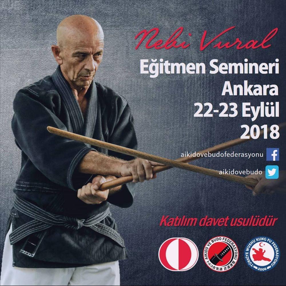 Nebi Vural Ankara Instructor Class 2018