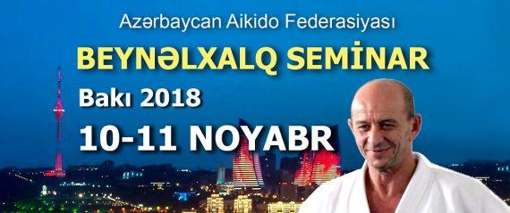 Nebi Vural Baku Seminar 2018